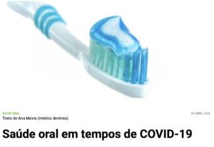 higiene oral covid